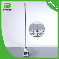 Durable stainless steel basket microfiber spin mop, master mop