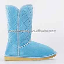 Women new design warm winter half boots for ladies's snow boots