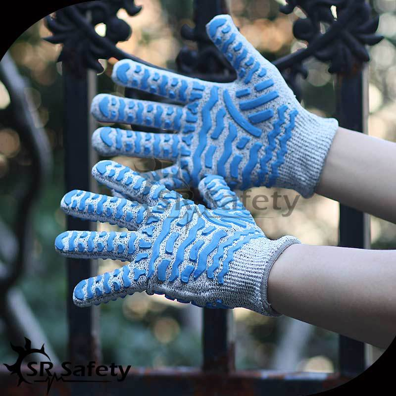 SRSAFETY Good protection safety impact gloves led gloves gloves work