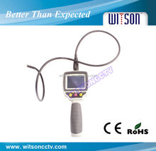 WITSON industrial video borescope videoscope endoscope 2.7 inch TFT monitor with 1m flexible tube(W3-CMP2813X)