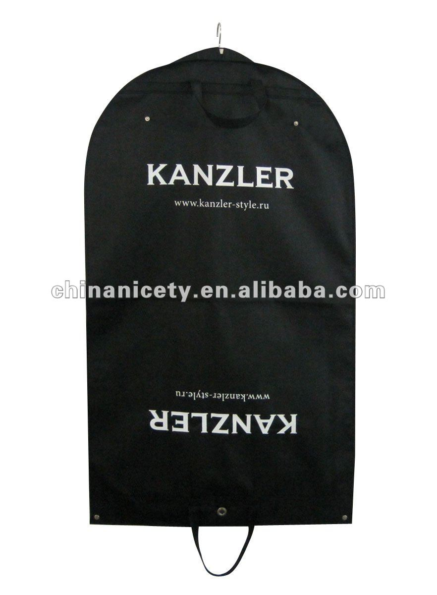 Waterproof hanging garment bag