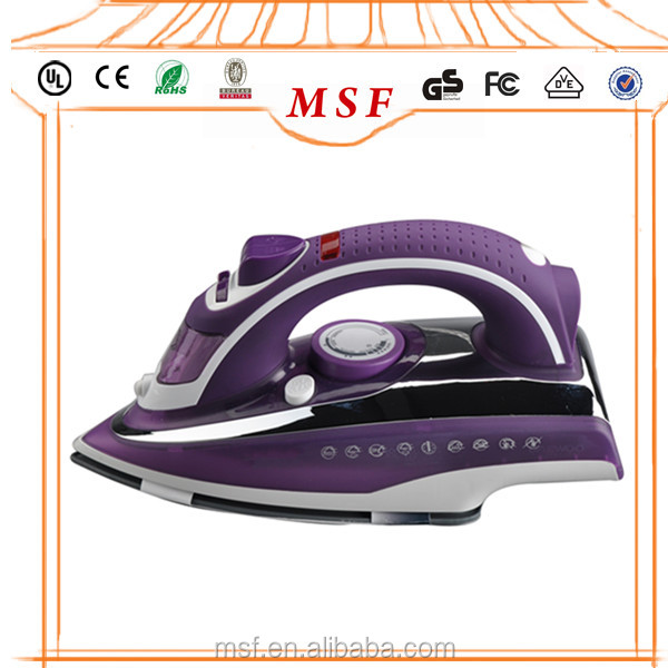 Electric iron clothes with heavy weight iron box