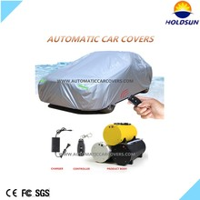 2016 new snow proof automatic car cover for Hatchback car