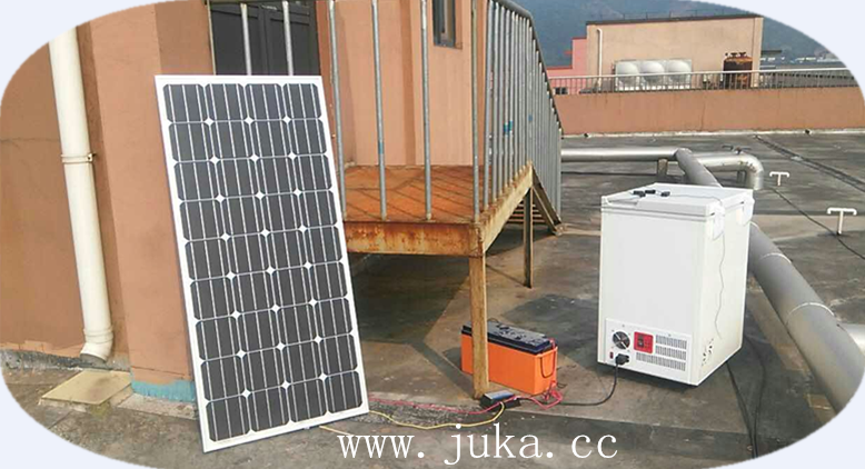 24v BD/BC-108 solar powered deep freezer