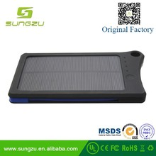 Customized Corporate Gifts, tradeshow giveaways for your next promotion solar battery charger, solar backup power 8000mAh