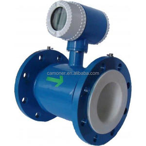 IP65 0.2% Accuarcy Chilled dirty water Electromagnetic Flow Meter