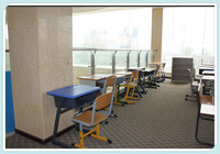 factory price cheap office compact school furniture chair and desk
