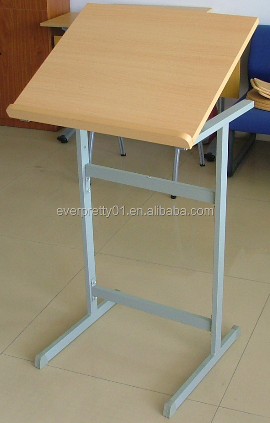 School furniture Ergonomics design engineering drawing table drafting drawing table