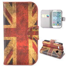 Special Designs Retro UK Flag Wallet Pattern Flip Leather Case for Alcatel One Touch Pop C3 Case