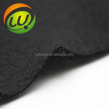 Black Polyester Needle Punched Non-woven Fabrics Cloths Felts Made in China