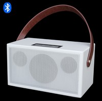 "OEM Mini HiFi Indoor / Outdoor Portable Stereo Wireless Bluetooth Speaker with 4"" Subwoofer/2.5"" Horn 2.1 Speaker"