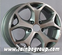 Alloy wheel best quality , wheel rims for car, wheels with silver machine china wholesale