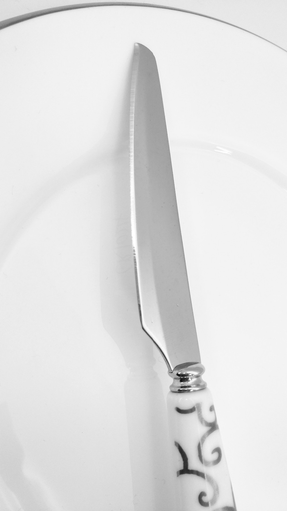 Best selling porcelain fruit knife and fork