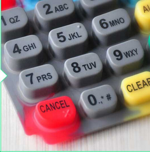 Custom Made Silicone Numerica POS Keypad