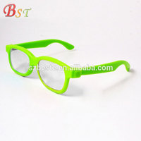 2d pictures pop out plastic chromadepth 3d glasses