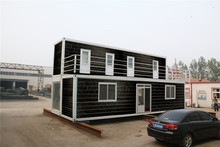 2016 selling decorated wooden container cottage lodging container house