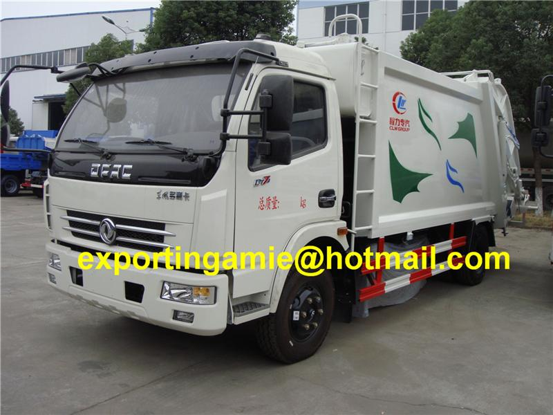 good quality self-loading 4 ton compactor garbage truck for sale