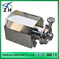 food grade stainless steel sanitary Centrifugal pump water pump price of 1hp 3hp water pump