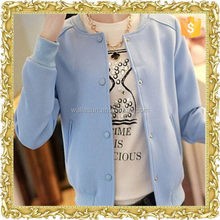 High quality printed customized women half jacket