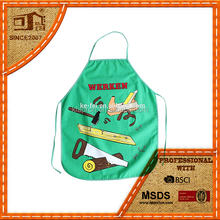 kids painting apron for kids or promotion