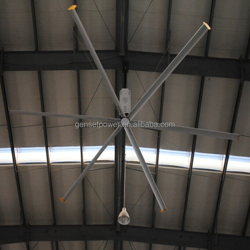 Large Industrial Exhaust Fans : Large hvls industrial exhaust fan with blades buy