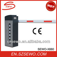 Traffic Barrier control vehicular traffic X660 with CE certificate