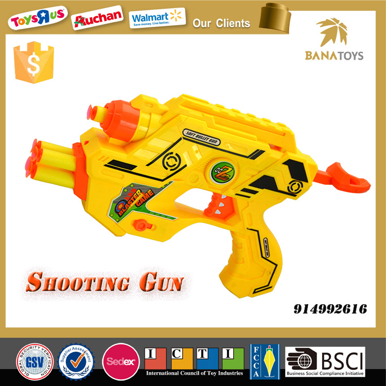Promotional soft foam dart guns