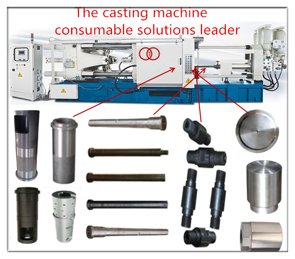 alloy aluminium cold chamber die casting machine accessories