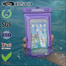 Waterproof pvc full cover for iphone 4
