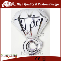 Large 18 inch helium balloon ring, balloons foil