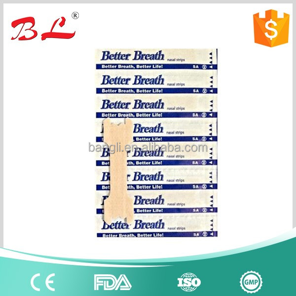BETTER BREATH NASAL STRIPS REG OR LARGE ANTI SNORING AID TO STOP SNORING BREATHE-j