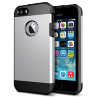 Hot selling 2 in 1 TPU armor Cover for iphone 5 5s tough armor case