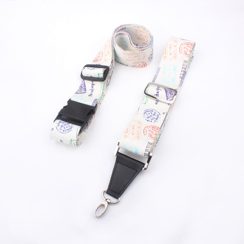 Newest style polyester antislip travel bag strap