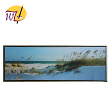 Wholesale beach scenery printed oil painting on canvas direct from china digital image print on canvas