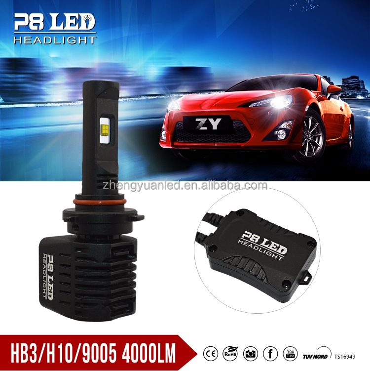 Car Led Light HB3 9005 H10 H4 H13 9004 9007 led bulb 8000 Lumen Led Headlight