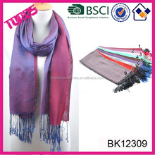 HIGH QUALITY SILK WHOLESALE LADY THIN PASHMINA SCARF