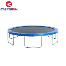 CreateFun 6ft 8ft 10ft 12ft 13ft 14ft 15ft 16ft Round Trampoline Without Safety Enclosure Net