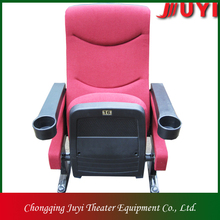 JY-616 lecture room auditorium chair with cup holder auditorium theater equipment