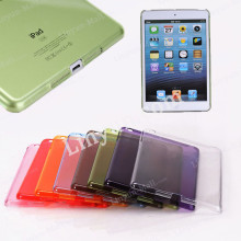 1mm thickness clear trasparent PC hard back cover case for iPad mini 1 2 3