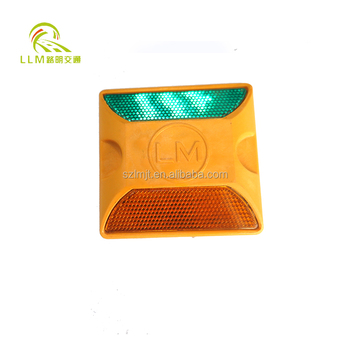 China cheap double side ceramic road stud reflectors