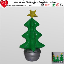 Christmas decoration artificial pvc inflatable christmas tree