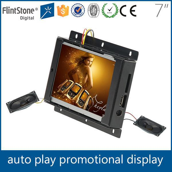 "Auto loop 7"" open frame mini screen"