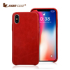 New arrival leather cell phone case high quality soft back cover case for iphone X