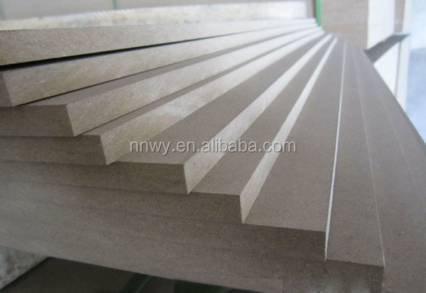 E0 Formaldehyde Emission Standards and MDF / Semi-hardboards Fibreboard Type fire retardant mdf boards