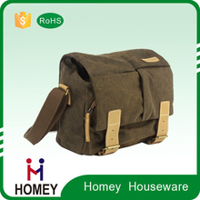 Trendy Waterproof Canvas Slr Dslr Digital Camera Shoulder Bag Case Casual Messenger Bag Outdoor Travel Photography Bag