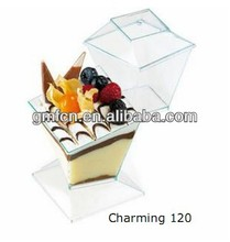 Hot selling catering food party wedding pudding plastic disposable pet food packaging bag