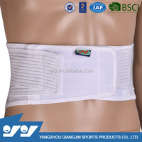 Adjustable super thin lower back lumbar support belt/brace