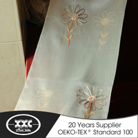 elegant hot selling ribbon embroidered curtains in lahore pakistan