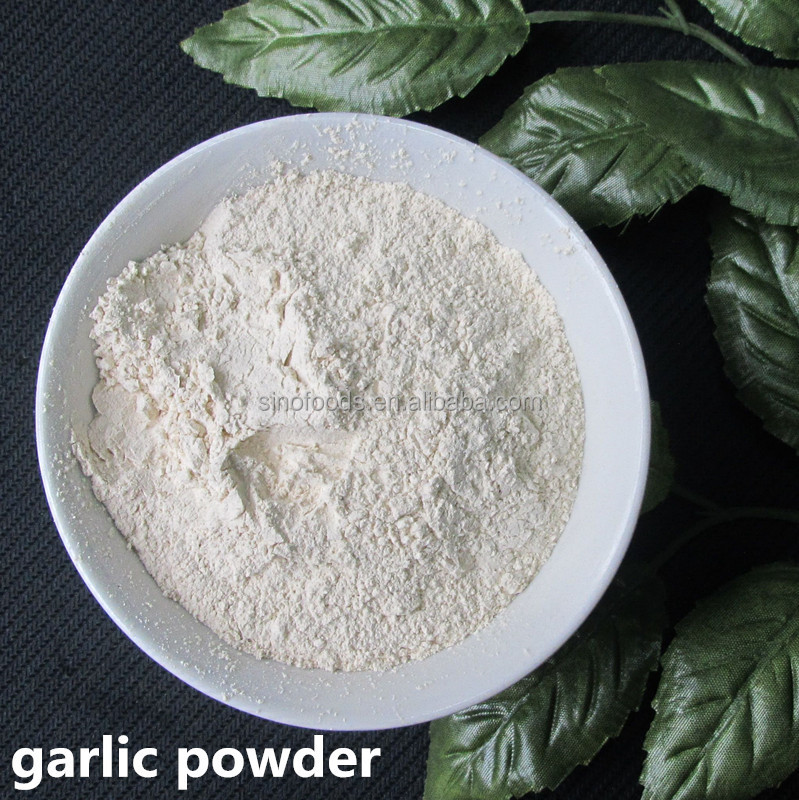 Air dried White Garlic Powder Spicy vegetable powder