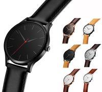 2017 Oem Luxury North Men Quartz Watches Genuine Leather Waterproof Casual Wrist For Man Sports